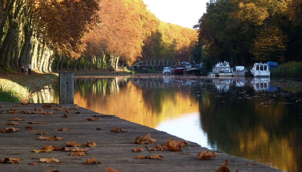 canal des 2 mers automne